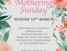 Mothering Sunday at the Hunters Inn