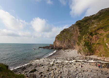<h3>welcome stop-off for walkers exploring the exmoor coast</h3>