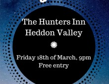 Skylark at The Hunters Inn – Friday 18th March