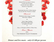 Poppy Appeal Charity Dinner 2016