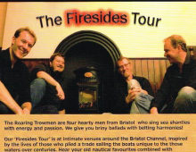The Roaring Trowmen – performing live at The Hunters Inn on Saturday January 17th 2015