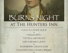 Burns Night 2015 – Sunday 25th January