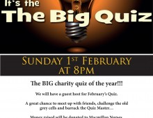 Calling all Eggheads – The Big Quiz, 1st February