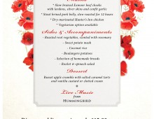 The Hunters Inn Poppy Appeal